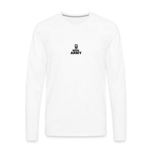 The man army - Men's Premium Long Sleeve T-Shirt