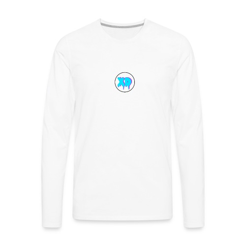 XD in cirlce - Men's Premium Long Sleeve T-Shirt