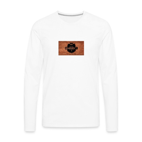 youtubebannerbeadedme - Men's Premium Long Sleeve T-Shirt