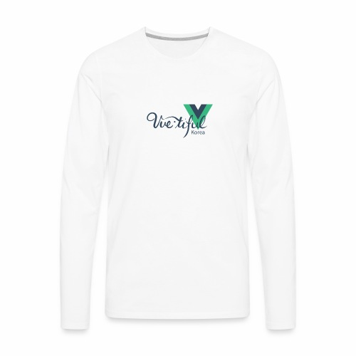 Vuetiful Korea - Men's Premium Long Sleeve T-Shirt