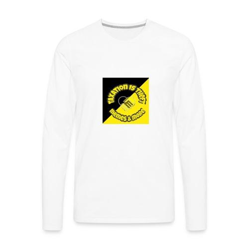 titsttheft - Men's Premium Long Sleeve T-Shirt