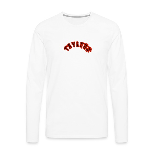 Taylerr Brand Arch logo // 1st collection of items - Men's Premium Long Sleeve T-Shirt