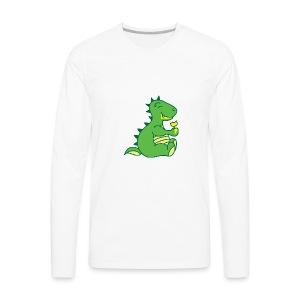 Dinosaurs Love Ice Cream - Men's Premium Long Sleeve T-Shirt