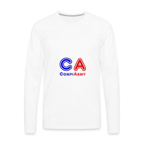 CompiArmy Design | bit.ly/compiarmyyt - Men's Premium Long Sleeve T-Shirt
