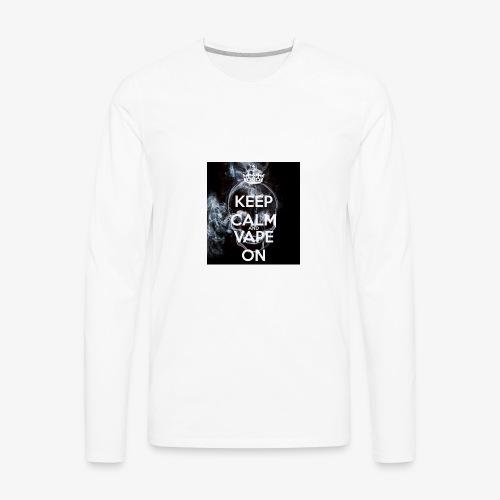 vaping - Men's Premium Long Sleeve T-Shirt
