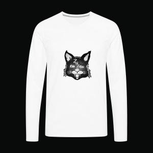 Lunar Cat - Men's Premium Long Sleeve T-Shirt