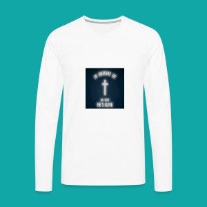 Oh wait he's alive - Men's Premium Long Sleeve T-Shirt