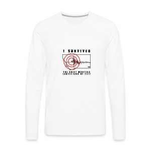 Great Montana Earthquake - Men's Premium Long Sleeve T-Shirt