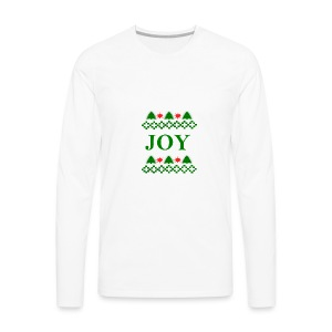 Christmas Joy - Men's Premium Long Sleeve T-Shirt