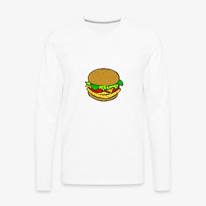 Comic Burger - Men's Premium Long Sleeve T-Shirt