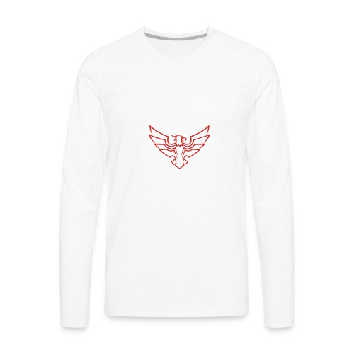 Kevin Be a Hawk [LIMTED] - Men's Premium Long Sleeve T-Shirt