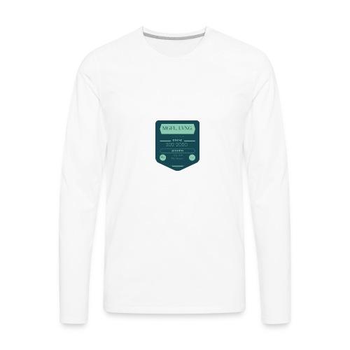 1MeaningfulLiving4U - Men's Premium Long Sleeve T-Shirt