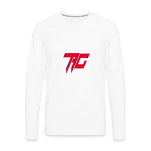 Tag Logo - Men's Premium Long Sleeve T-Shirt