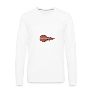 Fireball Saw Logo - Men's Premium Long Sleeve T-Shirt