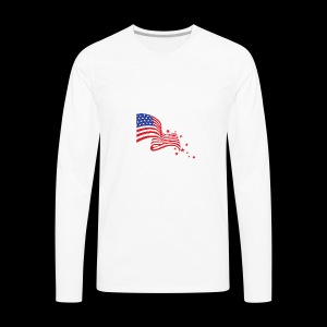 fourth of JULY - Men's Premium Long Sleeve T-Shirt
