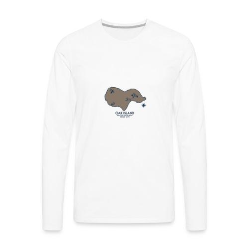 Oak Island - Men's Premium Long Sleeve T-Shirt