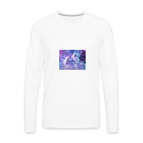 unicorn lovers - Men's Premium Long Sleeve T-Shirt