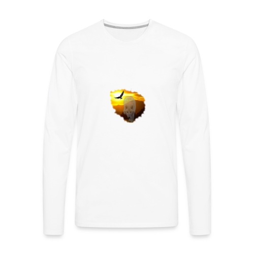 Sunsets and the spirit of the wilderness - Men's Premium Long Sleeve T-Shirt