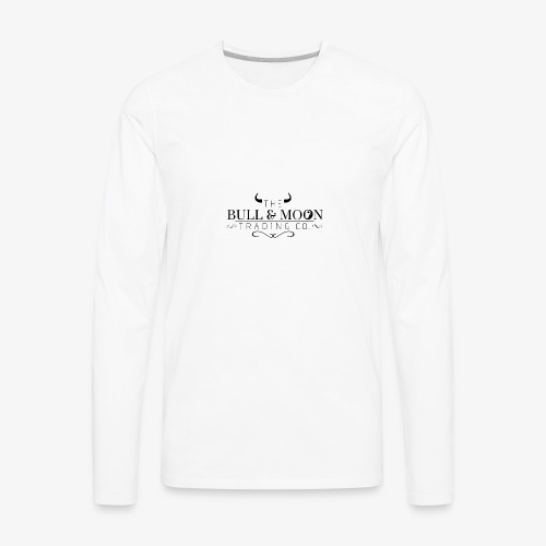 Bull & Moon Official T-Shirt - Men's Premium Long Sleeve T-Shirt