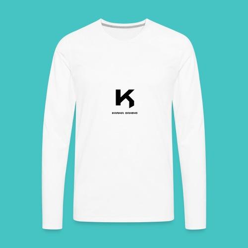 karma_gaming_logo - Men's Premium Long Sleeve T-Shirt