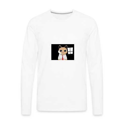 Pete The Hamster - Men's Premium Long Sleeve T-Shirt