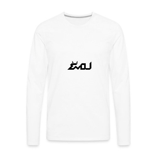 evol logo - Men's Premium Long Sleeve T-Shirt