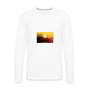 beautiful jamaica - Men's Premium Long Sleeve T-Shirt