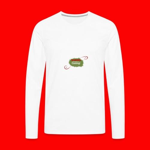 Christmas_is_Coming - Men's Premium Long Sleeve T-Shirt