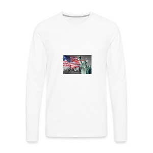 USA Independence Day - Men's Premium Long Sleeve T-Shirt