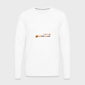 Sellanycar.com orange! - Men's Premium Long Sleeve T-Shirt