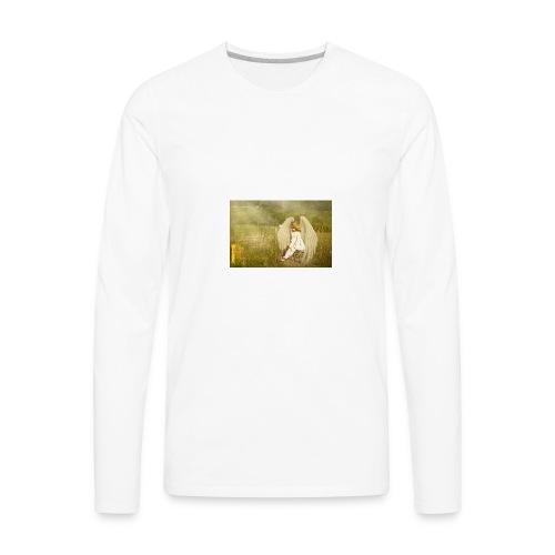 An Angel to Watch Over You - Men's Premium Long Sleeve T-Shirt
