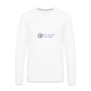 LogoPeaceFirst - Men's Premium Long Sleeve T-Shirt