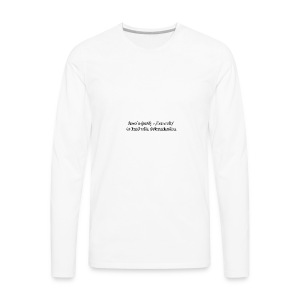 Crash - Men's Premium Long Sleeve T-Shirt