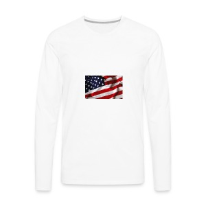 HAPPY Independece Day 4th July USA - Men's Premium Long Sleeve T-Shirt