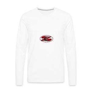 Sharyland-High-School-logo - Men's Premium Long Sleeve T-Shirt