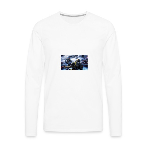 halo - Men's Premium Long Sleeve T-Shirt