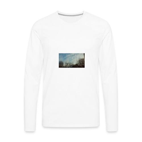 jersery winter sky - Men's Premium Long Sleeve T-Shirt