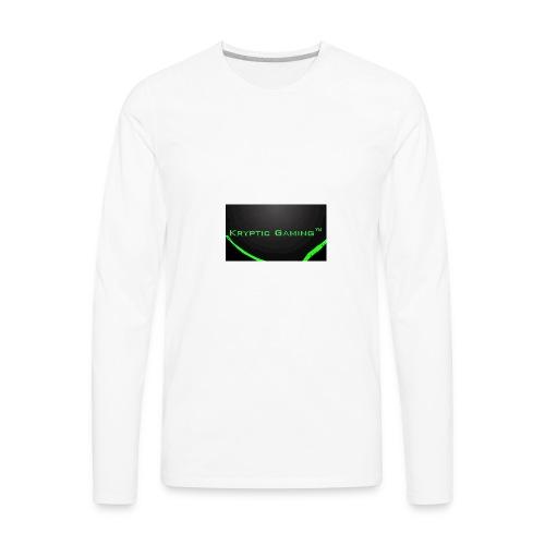 Kryptic Gaming Classic Design - Men's Premium Long Sleeve T-Shirt