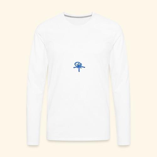 Back LOGO LOB - Men's Premium Long Sleeve T-Shirt