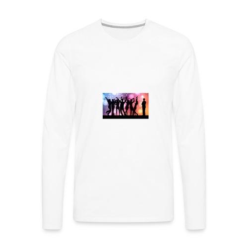party - Men's Premium Long Sleeve T-Shirt