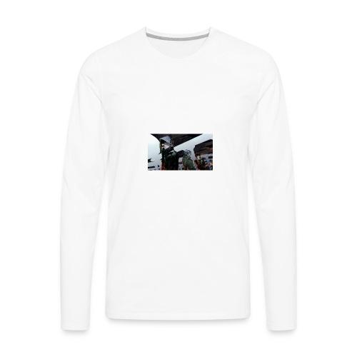 tokyo ghoul kaneki ken guys art 99764 2560x1440 - Men's Premium Long Sleeve T-Shirt