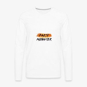 Party Monster Simple - Men's Premium Long Sleeve T-Shirt