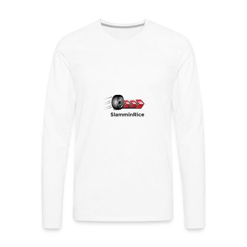 SlamminRice Tire shirts - Men's Premium Long Sleeve T-Shirt