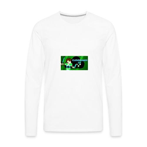 CloudGamer's Shirt (Baby) - Men's Premium Long Sleeve T-Shirt