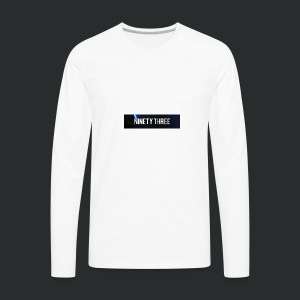 Ninety Three Official (1st Cop) - Men's Premium Long Sleeve T-Shirt