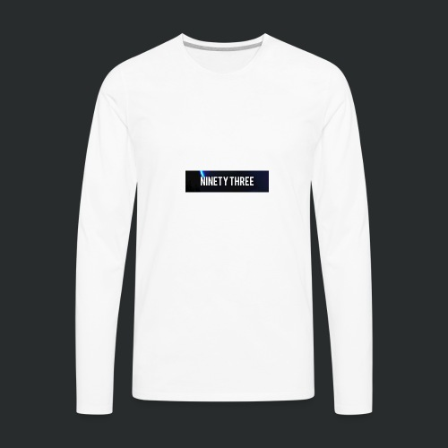 Ninety Three Official (1st Cop) - Men's Premium Long Sleeve T-Shirt