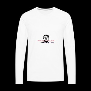 Trumps beauty - Men's Premium Long Sleeve T-Shirt