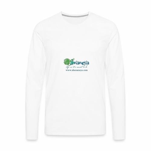 Al Sonaneya Nature - Men's Premium Long Sleeve T-Shirt