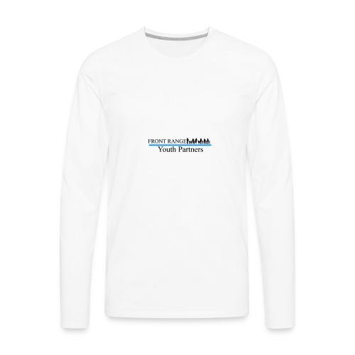 Front Range Youth Partners LOGO - Men's Premium Long Sleeve T-Shirt