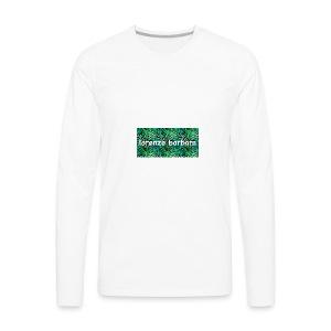Classic Vine Design - Men's Premium Long Sleeve T-Shirt